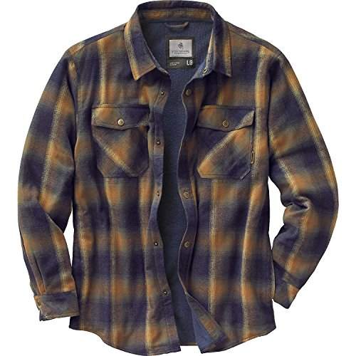 Legendary Whitetails Men's Archer Thermal Lined Shirt Jacket Canteen Plaid