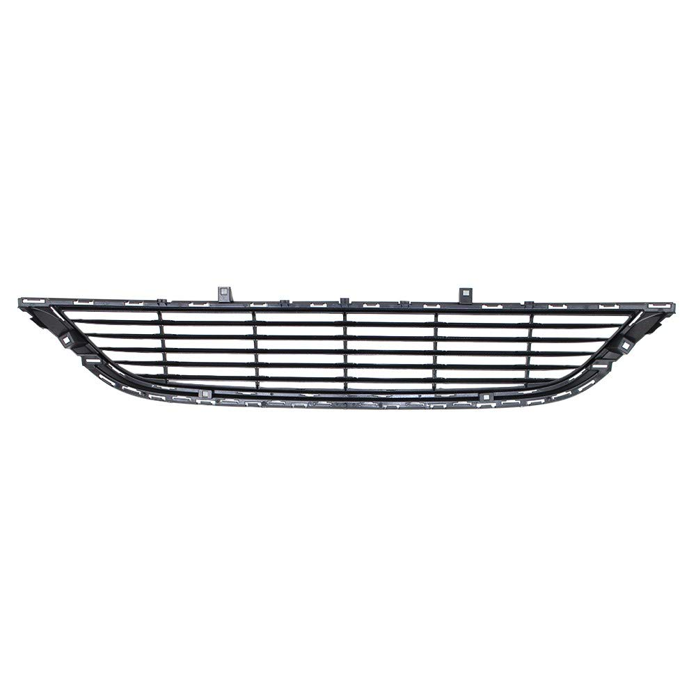 Perfit Liner New Front Black Plastic Bumper Grille Grill Replacement For Chrysler 200 Fits LX LIMT Model CH1036134 68202988AC