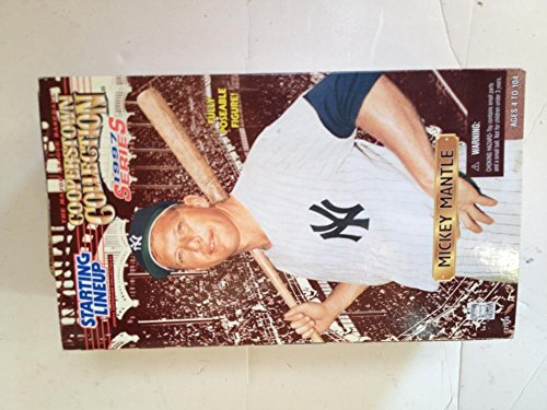 1996 Starting Lineup Mickey Mantle Cooperstown Collection Action Figure Figurine Statue (Cooperstown Memorabilia)