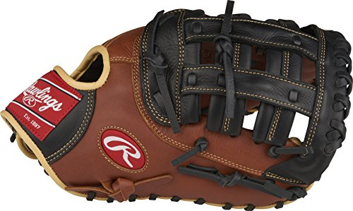 Rawlings Sandlot Series Leather Modified Pro H Web Baseball Glove, 12-1/2