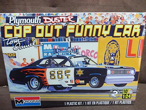 Monogram Plymouth Duster Cop-Out Plastic Model Kit