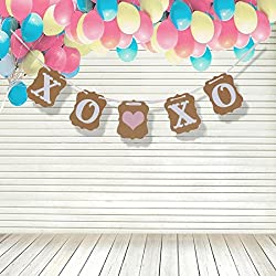 Valentine's Decoration - XOXO Banner - Valentine's Day Bunting Sign - Valentine Photo Prop