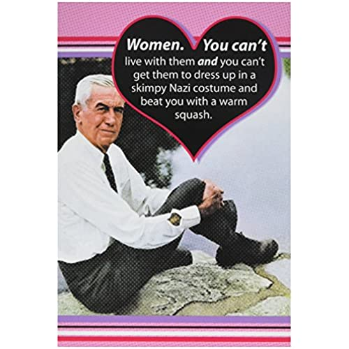 NobleWorks 2116 Nazi Costume Funny Valentine's Day Unique Greeting Card, 5 x 7 Sales