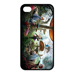 Fashion Cheshire Cat Personalized iPhone 4 4S Rubber Silicone Case Cover