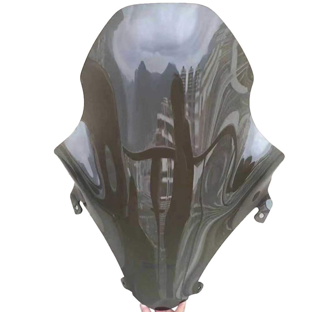 125//150 Grigio fumo ETbotu Windscreen for Motorcycles Applicable to Front Windscreen Honda PCX