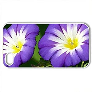 iphone covers 2 Lovely Flowers! - Case For Iphone 6 plusPlus 5.5Inch Cover and 4s (Flowers Series, Watercolor style, White) WANGJING JINDA