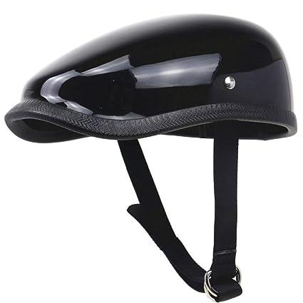 Casco de motocicleta retro Casco de motor de fibra de vidrio ...