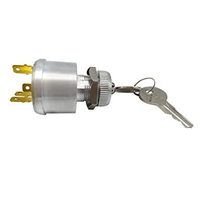 Ignition Switch Key Starter Switch for Cars, Fits EZ-GO TXT Golf Cart, 33639-G01: Automotive