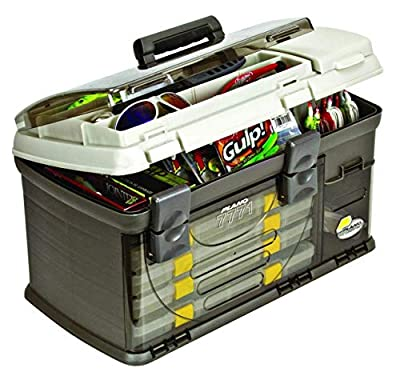 Plano Guide Series Stowaway Rack System, Tackle Storage with 4 Large Utility Boxes