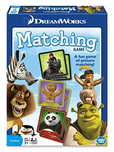 Dreamworks Matching Board Game (Shrek Toys)