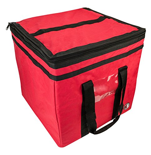 2B Travel Gear Balikbayan Box Bag (Travel Cover), Corrugated Boxes   Easy-Access Top for Customs, Clear Address Pocket, TSA Approved Lockable Zippers (Red)