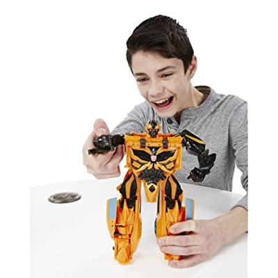 Transformers Age of Extinction Mega 1-Step Bumblebee Figure: Toys & Games