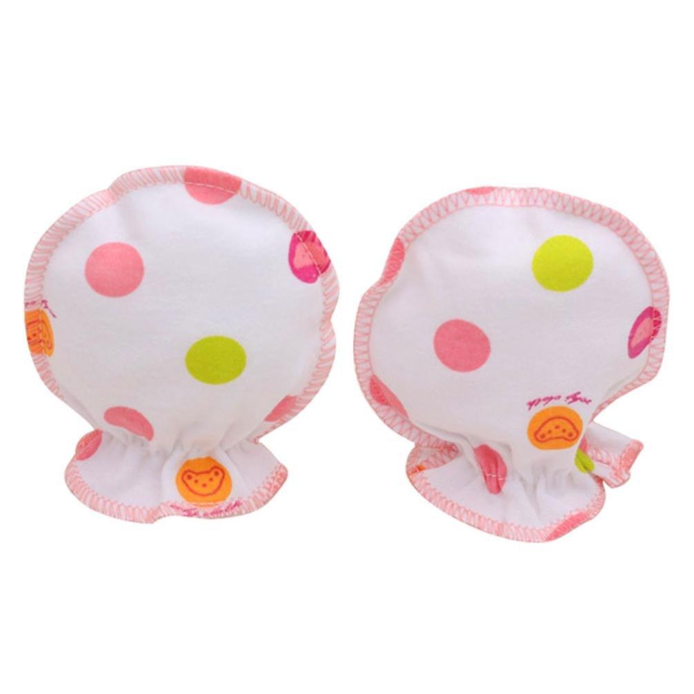 Koly® Newborn Baby Cute Dots Infant Boys Girls Anti Scratch Teething Mittens Gift Koly-JI625