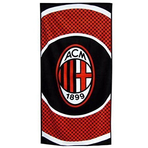 AC Milan Bullseye Beach Towel by Official Football Merchandise