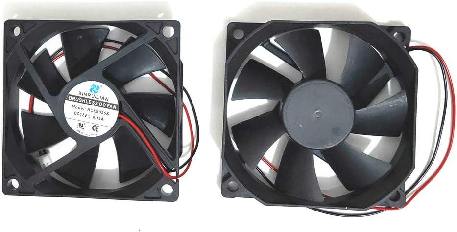 For 1 pcs Tian Xuan TX9025L12S DC 12V 0.16A 9CM 9025 2 Pin cooling fan