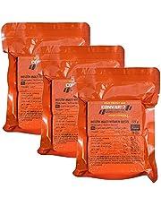 n. v. - High Energy Bar Multi Vitamine, bruikbaar als noodvoorraad, noodverzorging, noodrantsoen, voor buitenactiviteiten, noodsituaties - waardevolle ingrediënten - compacte verpakking - 3 x 125 g