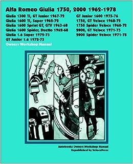 alfa romeo gtv spider maintenance repair service manual