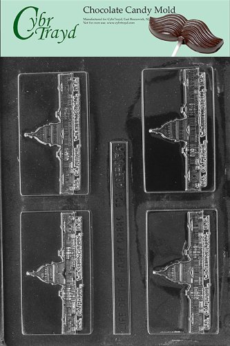 UPC 649979260369, Cybrtrayd BC036 Washington D.C. Business Card Chocolate Candy Mold