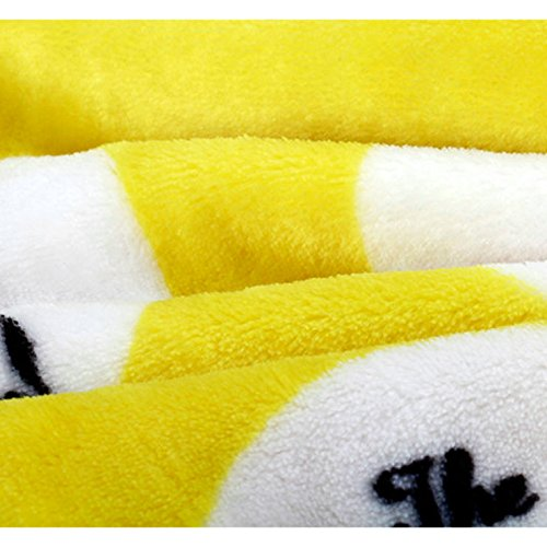 Frenchie French Bulldog Super Soft Fleece YELLOW Pet Bed Blanket by MSFREN (Image #2)
