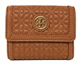 Tory Burch Bryant Mini Wallet in Quilted Leather, Style No 34031 (Luggage)
