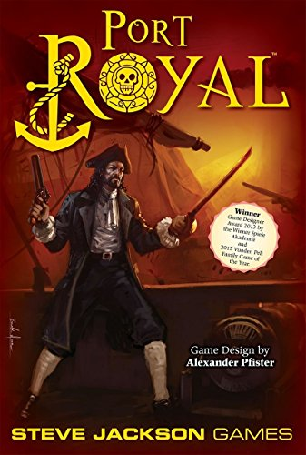 Steve Jackson Games Port Royal Board Game