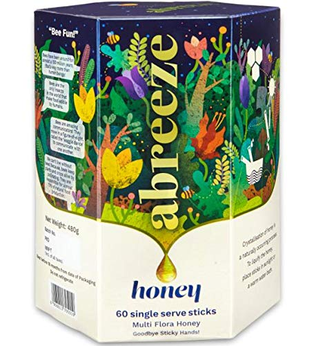 Amazon price history for Abreeze 100% Natural Seasonal Multi-flora Honey/ Pure Honey Sticks ( 480 Gram)