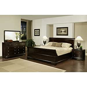 5-piece Sleigh Queen-size Bedroom Set