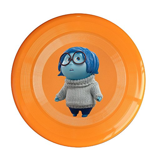 SYYFB Unisex Inside 2015 Out Sadness Character Outdoor Game Frisbee Flyer Frisbee Orange