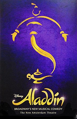 Aladdin The Musical Official Broadway Poster