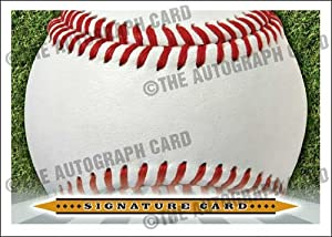 The Blank Autograph Card #SS02 Universal Signature Card Sweet Spot - Any Autograph - Major or Minor Leaguer, Coach, Scout (Perfect for Any Baseball Autograph Hound)(Trading Cards)