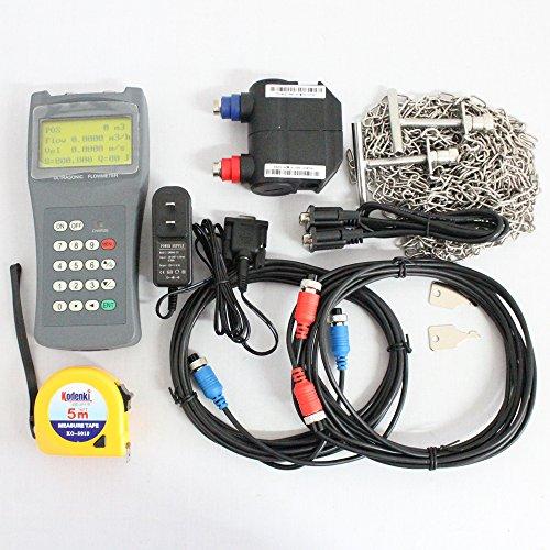 Holdwell TDS-100H-M2H Handheld Ultrasonic Flowmeter Digital Flow Meter Tester DN50-700mm - Hydraulic Flow Tester