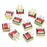 ILS - 10 pieces 1300 : 8 Ohm Audio Transformer EE14 Transformateur Audio POS Transformador