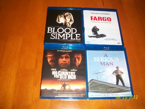 A Serious Man, Blood Simple, Fargo, No Country for Old Men, & True Grit