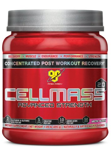 BSN CellMass 2.0 , 50 Servings, 1.06 Lbs., Arctic Berry