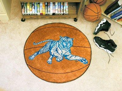 Jackson State University Basketball Rug (State University Basketball Area Rug)