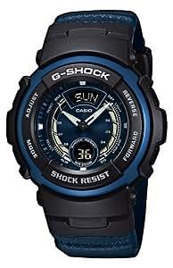 Casio Casio G-Shock G-315RL-2AVER - Reloj de caballero de cuarzo con correa de resina azul
