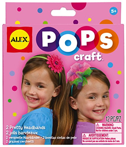 ALEX Toys POPS Craft 2 Pretty Headbands