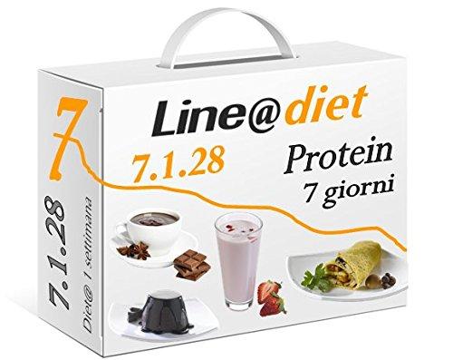 3 opinioni per DIETA PROTEICA Line@Diet! Alimenti Proteici in BAG COMPLETO per 7 Giorni: