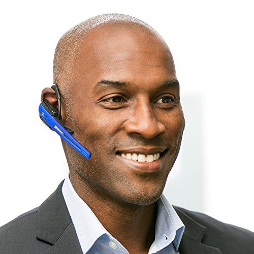 Sennheiser OfficeRunner Wireless Headset with Microphone, Blue by Sennheiser (Image #3)