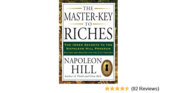 The master key to riches kindle edition by napoleon hill religion the master key to riches kindle edition by napoleon hill religion spirituality kindle ebooks amazon fandeluxe Choice Image