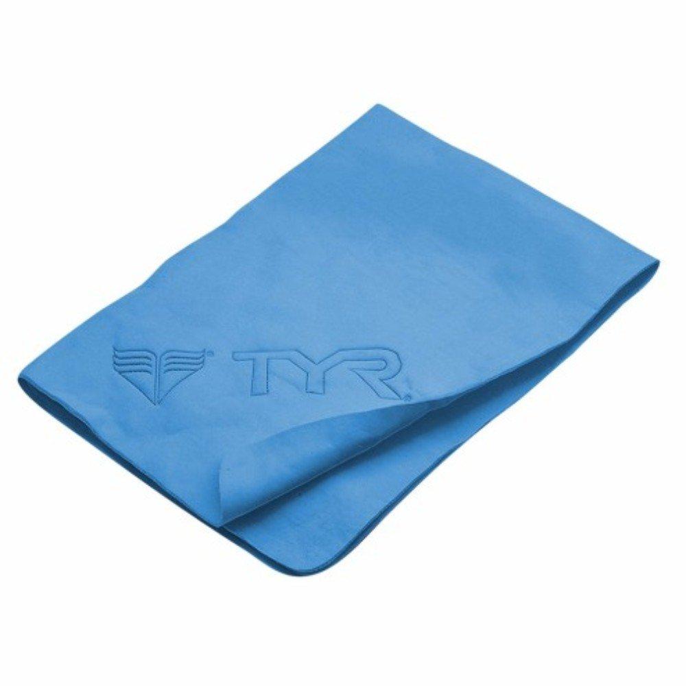 TYR dry-off grande sport asciugamano, Uomo, Asciugamano, 420LTWLALL, Blue, L