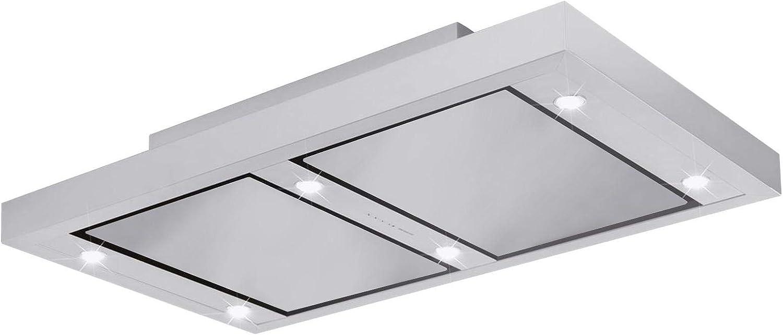 Silverline ALD 104.1 S ALTENA techo Campana/Campana/Campana isla/100 cm/C: Amazon.es: Grandes electrodomésticos