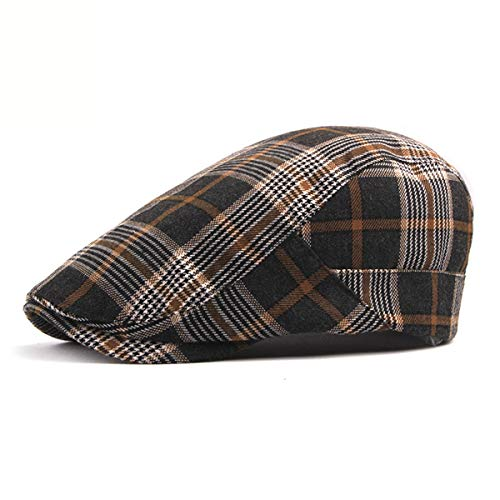 qin Sombreros Sombreros los de Hombres Delanteros de de Los señoras Tela D Escocesa GLLH Sombreros la D Boinas Casquillos Las hat dqSFHpdA