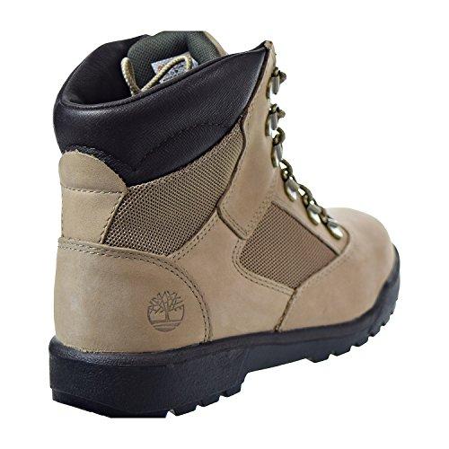Field big Kids Big Kid Leather Beige fabric Unisex 4 Boot 6'' M Timberland 5 Kid gXwZqX