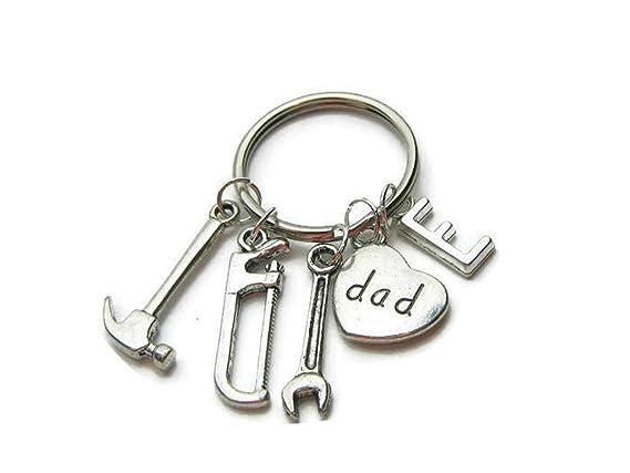 Amazon.com: Llavero de llavero con diseño de «If Dad Cant ...