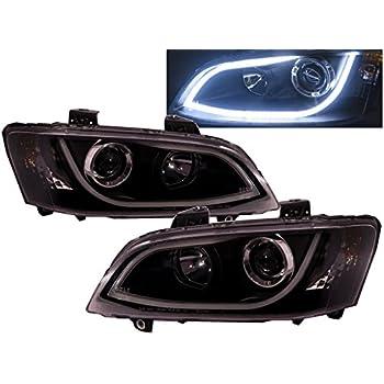 Amazon Com Crazythegod G8 Projector Headlight Led Drl R8look Black V2 For Pontiac Automotive