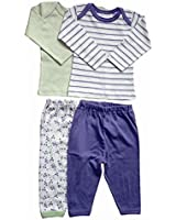Under the Nile Organic Outfit - Long Sleeve Tee and Pants 24 Months