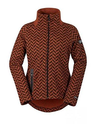 Kerrits Flip Tail Fleece Jacket Chestnut Size: Extra Small