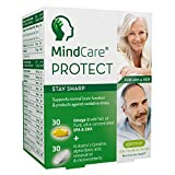 MindCare PROTECT Stay Sharp, Brain & Memory Supplement with Omega-3, Alpha Lipoic Acid & Vitamins