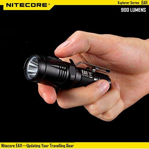 Nitecore EA11 XM-L2 900lumens EDC LED Flashlight 14500/AA by LEEPRA (Image #2)